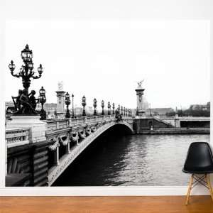 Paris Je Taime Wall Decal Color Print Home & Kitchen