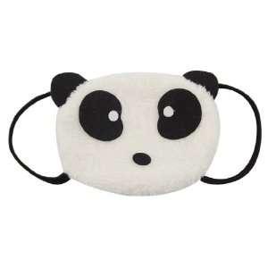 Children Black White Panda Style Mouth Eye Mask Muffle Beauty