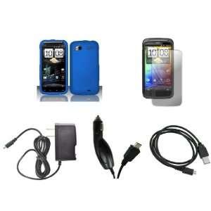 HTC Sensation 4G (T Mobile) Premium Combo Pack   Blue