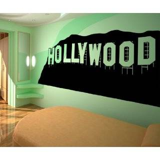 HOLLYWOOD WALL STICKERS DECALS ART MURAL T322