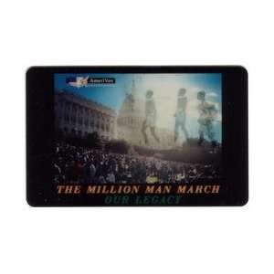 Collectible Phone Card The Million Man March Our Legacy