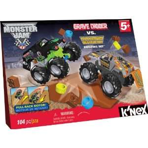 Monster Jam Grave Digger vs. Maximum Destruction Set : Toys & Games