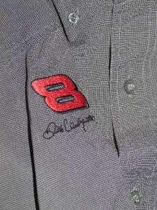 Remington Dale Jr Mens Button Front Shirt Large ~ GREAT |