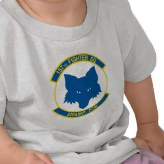 157th Fighter Squadron SWAMP FOX T shirt  Zazzle.co.uk