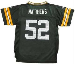 Clay Matthews Green Bay Packers Baby / Infant Jersey: Clothing