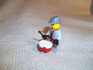 LEGO CIVIL WAR CUSTOM SOLDIER DRUMMER CONFEDERATE CAVALRY