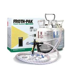 DOW Froth Pak 200 Foam Sealant kit 200 board feet (041343008254