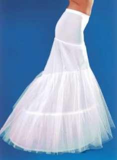 Bridal Accessories 2 hoop white fishtail wedding dress petticoat