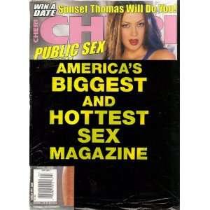 Magazine April 2003 Natalia Cruize, Avy Scott, Kyli Ryan: CHERI: Books