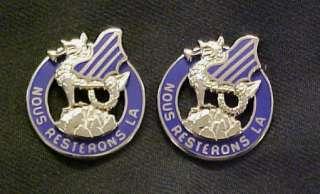 3rd Infantry Division Distinctive Unit Insignia NOUS RESTERONS LA