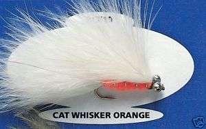Prittie Cats Whisker Orange BCE1 Sz10 Fishing Flies