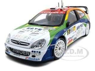 Citroen Xsara WRC OMV Kronos #5 M.Stohl/I.Minor 1/18 Diecast Car Model
