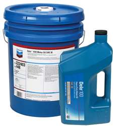 DELO 100 Diesel Engine Oil (Chevron)   Four Stroke Oil