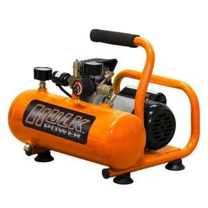 HULK POWER 0.5 HP Oil Free Portable Air Compressor Tools
