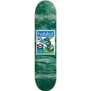 Habitat Angel Postage Deck 8.25 Skateboard Decks: Sports