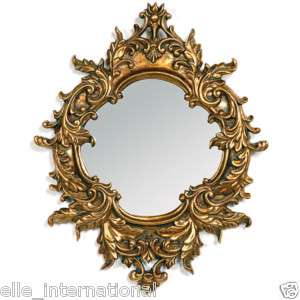 Wall Mirror RoCoCo Baroque Antique Gold Leaf 21 x 16