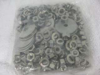 NEW BED BOLT KIT POLISHED SS CARRIAGE BOLTS, NUTS, BOLT