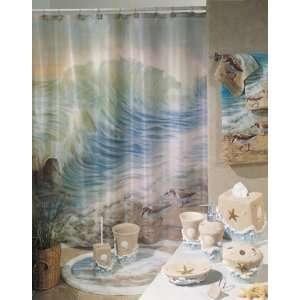 SHOWER CURTAIN fabric bath accessory home decor