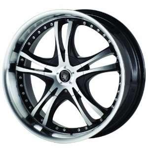 Von Max VM1 17x7.5 Machined Black Wheel / Rim 4x100 & 4x4