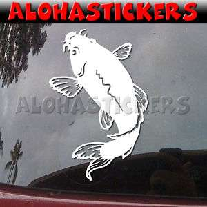 ASIAN KOI FISH Vinyl Decal Car Truck Window Sticker I62