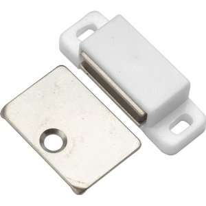 Hickory Hardware P109 W White Cabinet Door Catches