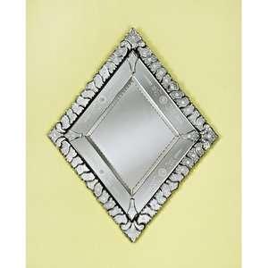 Venetian Gems Diamond Venetian Mirror Decor