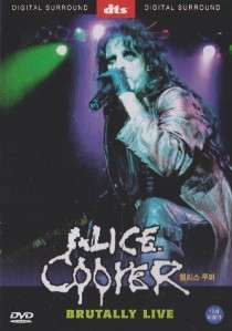 Alice Cooper Brutally Live DVD