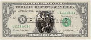 Journey Dollar Bill Real ! Celebrity Novelty Collectible Money