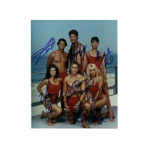 Yasmine Bleeth, David Charvet, Jaason Simmons and Alexandra Paul Photo