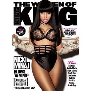Nicki Minaj Poster King Magazine Cover 24x36in
