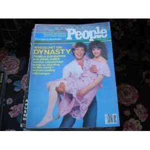 People Weekly (PAMELA SUE MARTIN & JOHN JAMES.DYNASTY