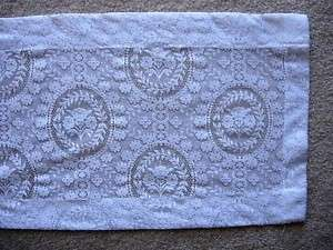 Vintage Extra Long 100 White Lace Table/Dresser Runner