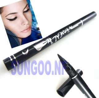 Waterproof Solid Liquid Eye Liner Makeup Cosmetic Eyeliner Black