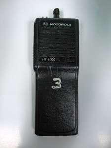 Motorola HT 1000 Radio H01KDC9AA3DN FCC ID: AZ489FT3768 Handie Talkie