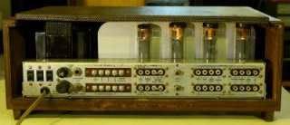 Vintage Fisher X 1000 Integrated Stereo Tube Amplifier