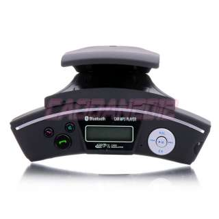FM Transmitter Mobile Phone Bluetooth Steering Wheel Car Kit with SD