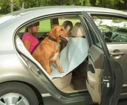 Bergan Hammock Style Rear Seat Protector Deluxe Gray