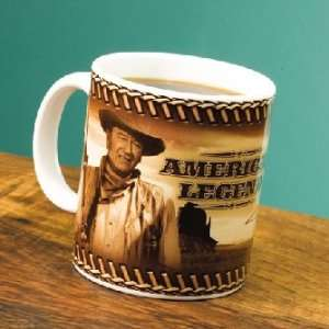 John Wayne American Legend 12oz Decal Mug *SALE* Spors