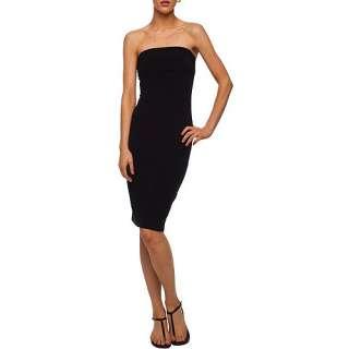 Norma Kamali   Womens Strapless Jersey Dress Women