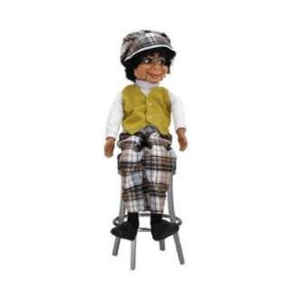 Willie Tylers Lester: 26 Ventriloquist Doll with Tote Bag and