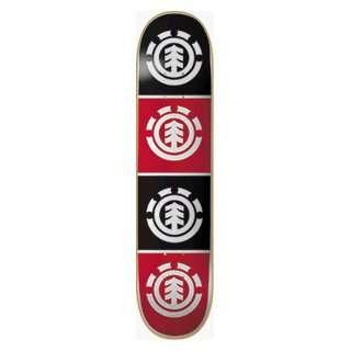 Element Skateboards Quadrant Deck 8.0 Thriftwood Ppp