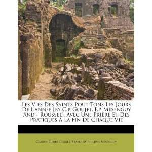 La Fin De Chaque Vie (French Edition) (9781176015562): Claude Pierre