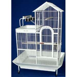 Brand New Parrot Bird Wrought Iron Cage Villa Top w