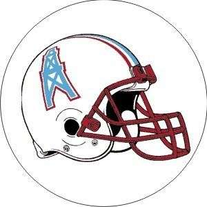 Vintage NFL Oilers helmet football logo sticker decal