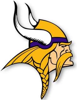 MINNESOTA VIKINGS   NFL Logo wall,window,sticker,decal