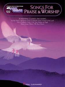 Songs for Praise Worship EZ Play Today Easy Piano Book