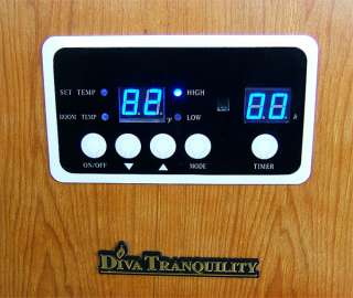 Tranquility Portable Quartz Infrared Space Heater 1500 Watts