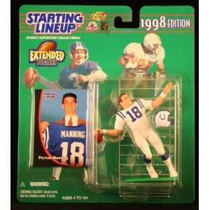 PEYTON MANNING / INDIANAPOLIS COLTS 1998 NFL * EXTENDED