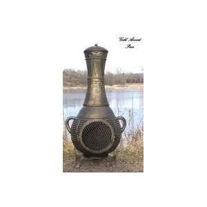Propane Chiminea   Blue Rooster ALCH015GK GA LPG   Pine