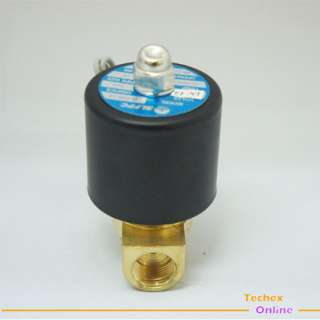 New 3/8 Electric Solenoid Valve 12 Volt Air, Gas,Fuel